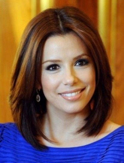 Riga In Mezzo Per Eva Longoria Hair Medium Hair Styles Hair