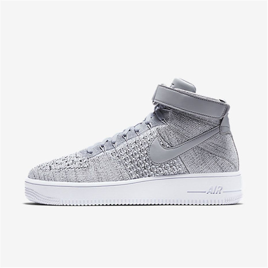 Nike Air Force 1 Ultra Flyknit (Wolf Grey White Wolf