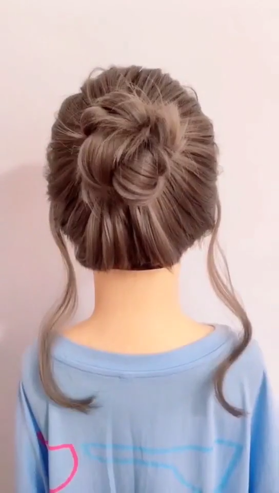 5 Minutes Braided Hairstyle Video Tutorial Very Simple