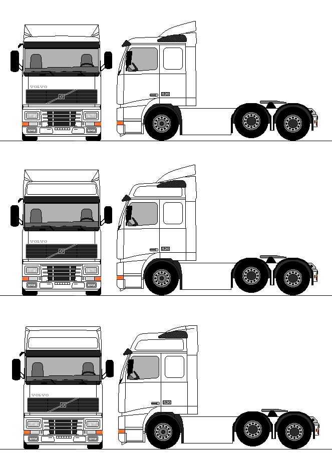 Volvo Fh 6x2 4 Caminhoes Volvo Carros E Caminhoes Caminhao De Madeira