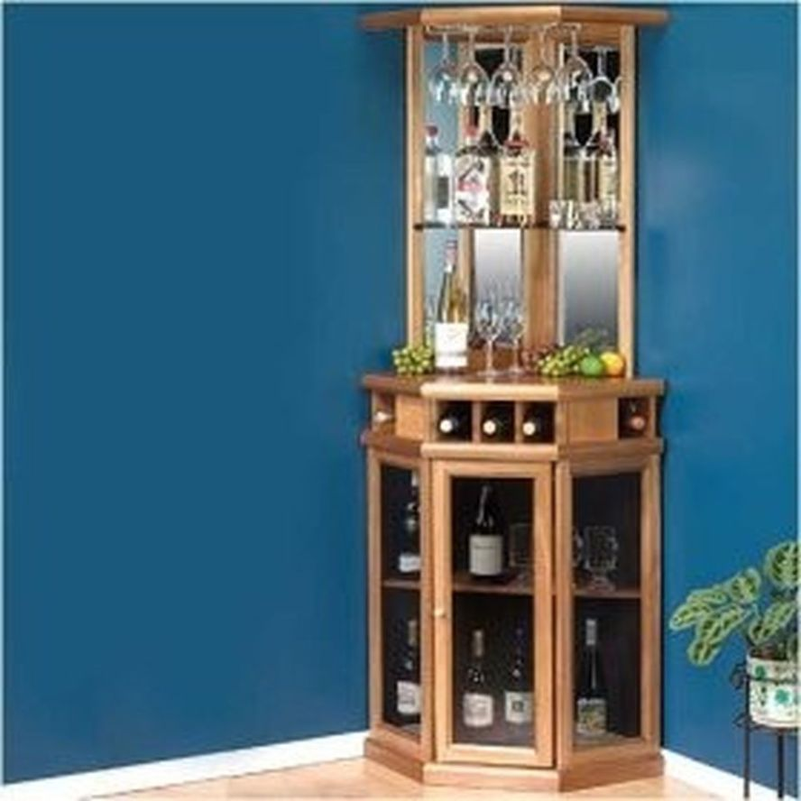Corner Bar Cabinet For Coffe And Wine Places 3 Corner Bar Corner Bar Cabinet Home Bar Areas
