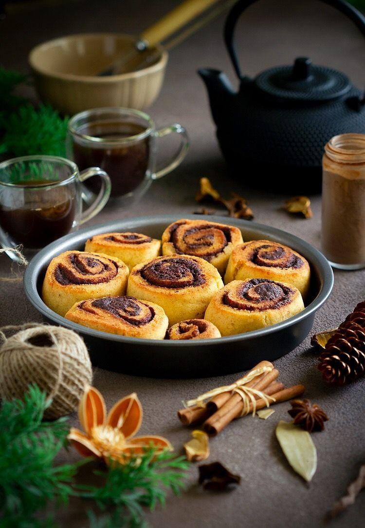 سينامون رولز كيتو Breakfast Food Muffin