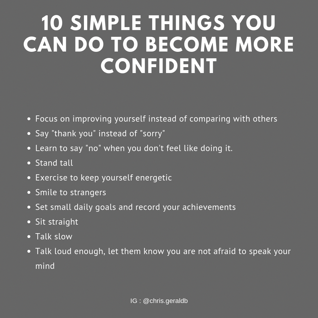Here Are 10 Simple Things You Can Do To Become More