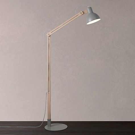 Buy john lewis wright floor lamp oak online at johnlewis com