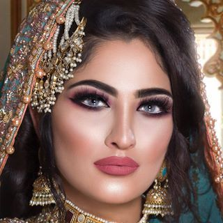 stunning walima look if you have a passion for makeup