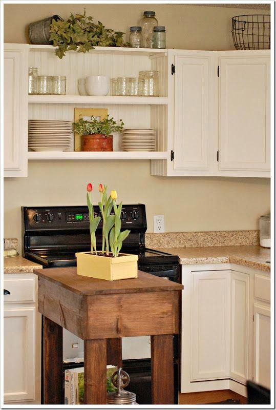 How to put your kitchen credenza? | Decorating above ...