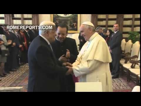 Jesuit Pope Francis officially declared Palestine to be a State (may 2015 )