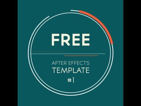 Free After Effects Template 2d Logo Introduction Transition By
