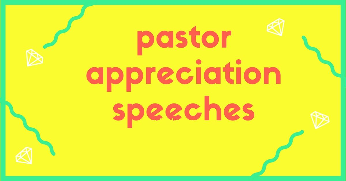 pastors appreciation message