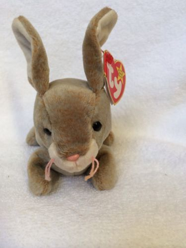 46f637292ef Super cute bunny for the Easter basket! Perfect size! Ty Bunny Nibbly  Beanie Baby