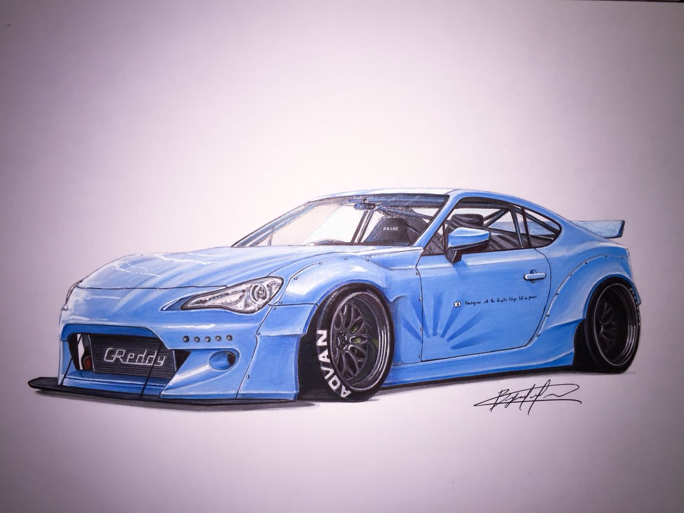 Toyota GT86 LB with Rocket Bunny Kit   FRS/GT86/BRZ ...