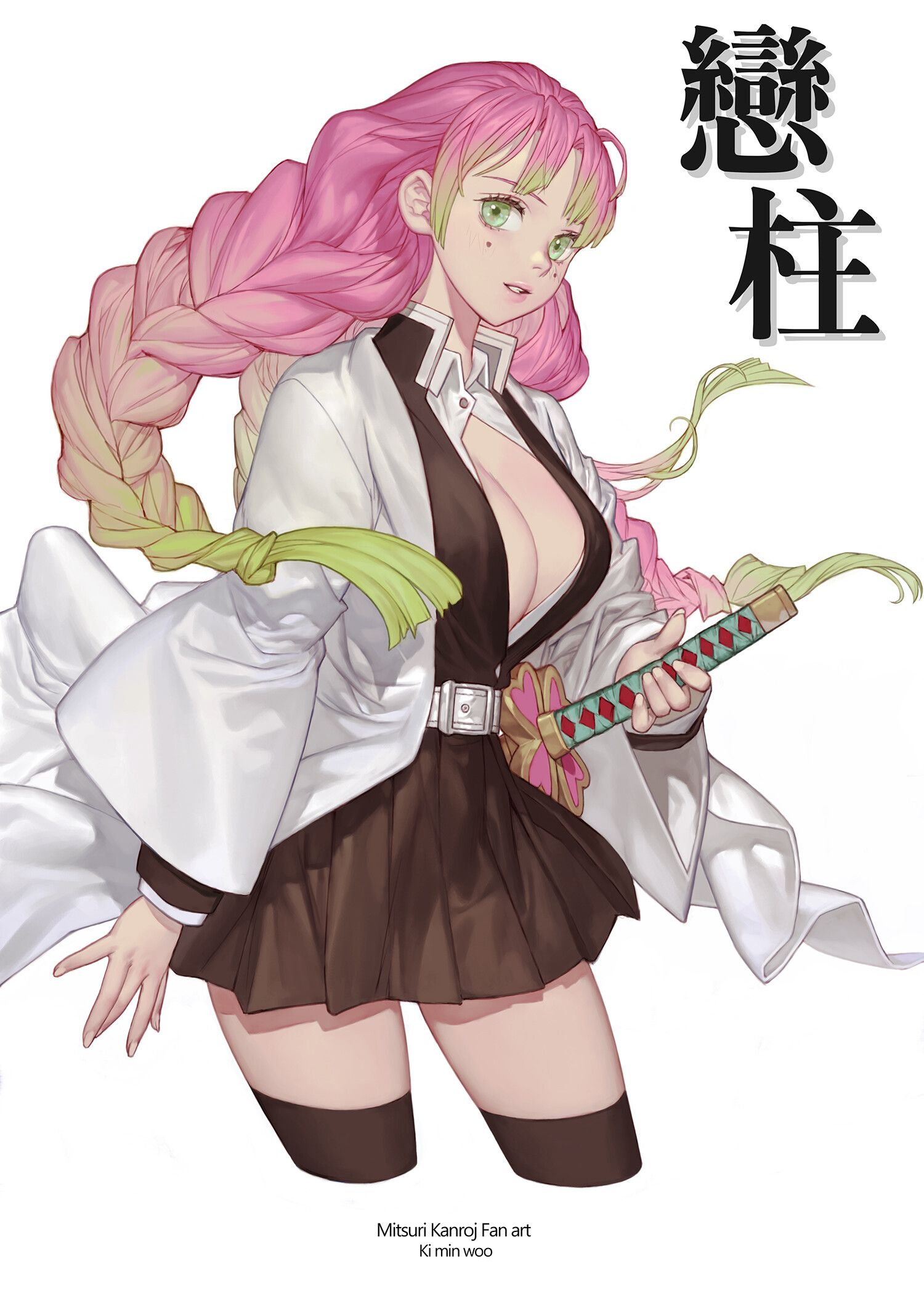 Mitsuri Kanroji Version Hombre / Mitsuri kanroji (甘 (かん) 露 (ろ) 寺 (じ) 蜜 (みつ) 璃 (り) kanroji mitsuri?) is a major supporting character of demon slayer: