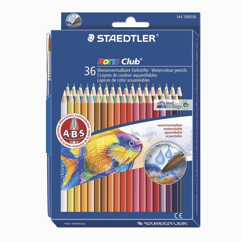 Staedtler 144 10nd Water Soluble Colored Pencil 12 24 36 Colors