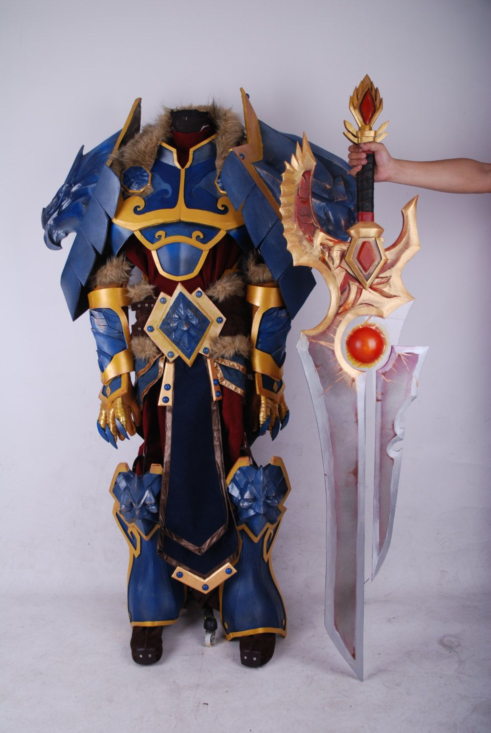 World of Warcraft King Varian With Shalamayne Custom by Cosrea ...