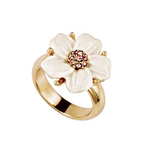 Avon: Floral Allure Statement Ring - youravon.com/jelenamarshall