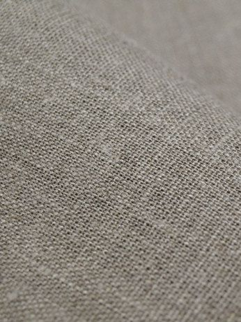 Natural Linen Fabric Gray Grey Undyed Unbleached W 59 Inch Medium Weight Eco Friendly Last Half Yard 4 00 Via Ets Natural Linen Fabric Linen Fabric Fabric