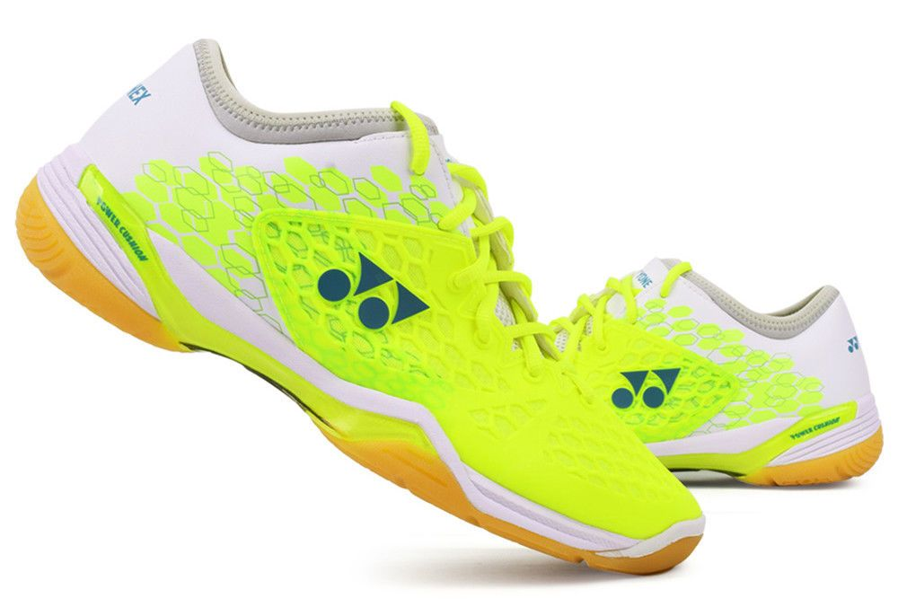 e5b74dfbc654 Yonex Unisex Badminton Shoes Power Cushion 03 Z Bright Yellow 2018 New  Racquet #YONEX