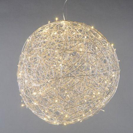 Bodenleuchte Draht Kugel 80cm LED Aluminium: #drahtleuchte ...