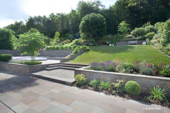projekt garten in hanglage competitionline garden outdoor pinterest gardens. Black Bedroom Furniture Sets. Home Design Ideas
