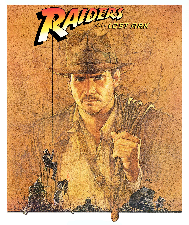 Raiders Of The Lost Ark 1981 Poster Restoration Performed By Darren Harrison Indiana Jones Harrison Ford Indiana Jones Films