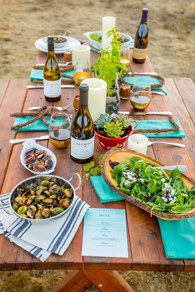 Beautiful Fall Harvest Dinner Party Menu Ideas Part - 6: Up The Drama And Fall Flair At Your Autumn Themed Dinner Parties With This Fall  Harvest Table Scape With Succulent Centerpieces.