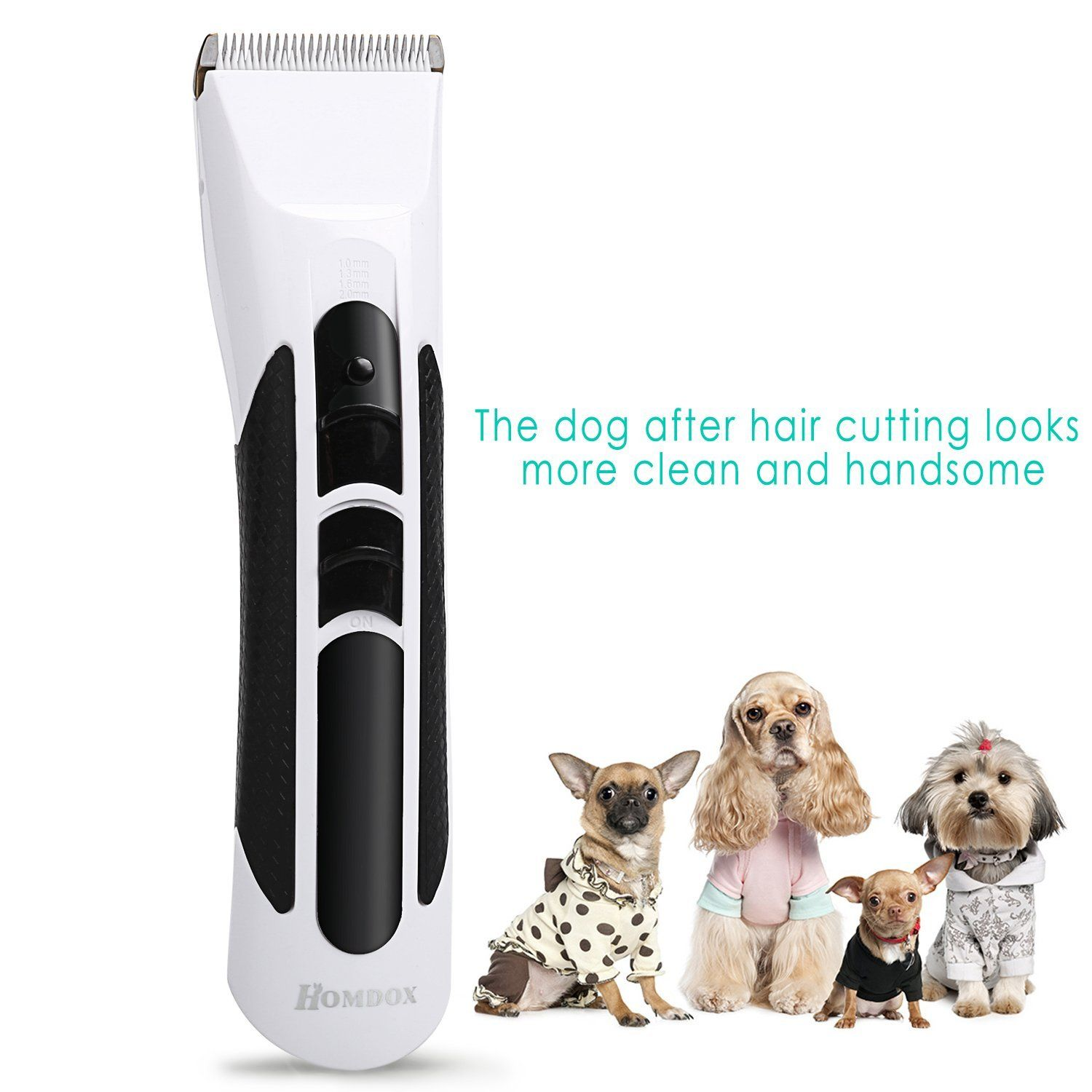 Homdox Cordless Rechargeable Pet Dog And Cats Electric Hair Clippers Grooming Trimming Kit Set Check Out This Great Dog Grooming Supplies Pet Dogs Dog Hair