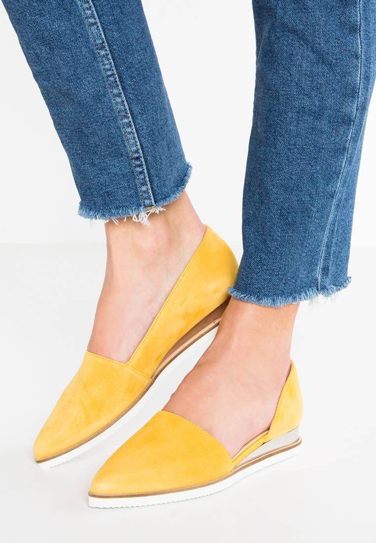 Zign. Mocasines yellow. Suela:fibra sintética. Forma del