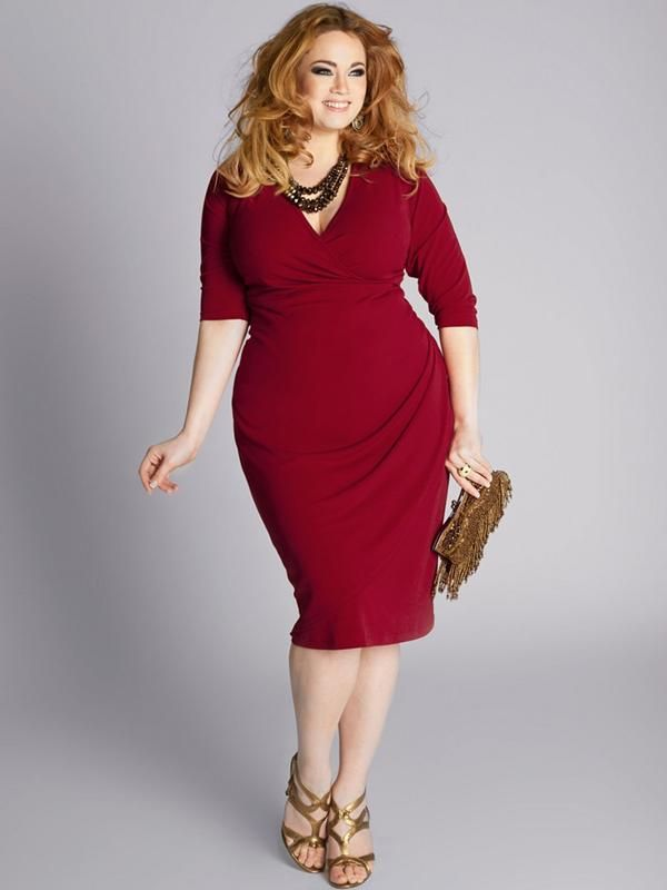 piniful.com plus size red dresses (09) #plussizefashion | cody ...