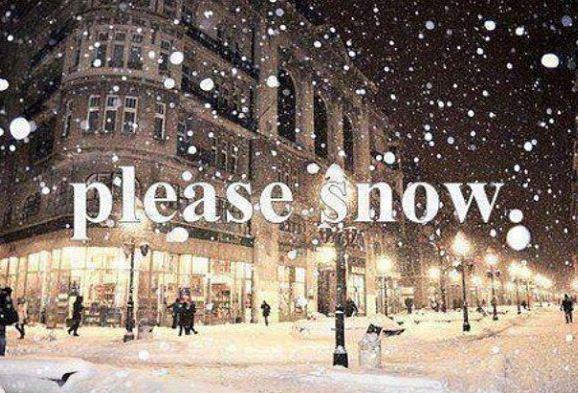 Please white Christmas this year!