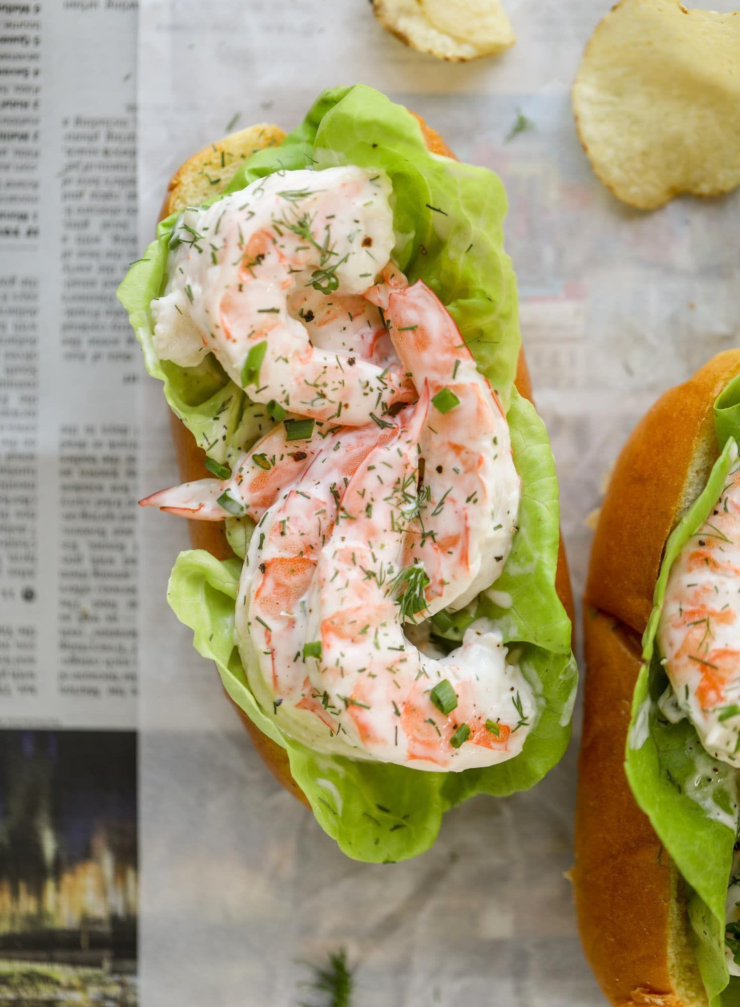 Shrimp Salad Roll Recipe