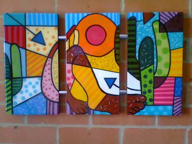Arte britto para pintar buscar con google romero for Pintura acrilica moderna