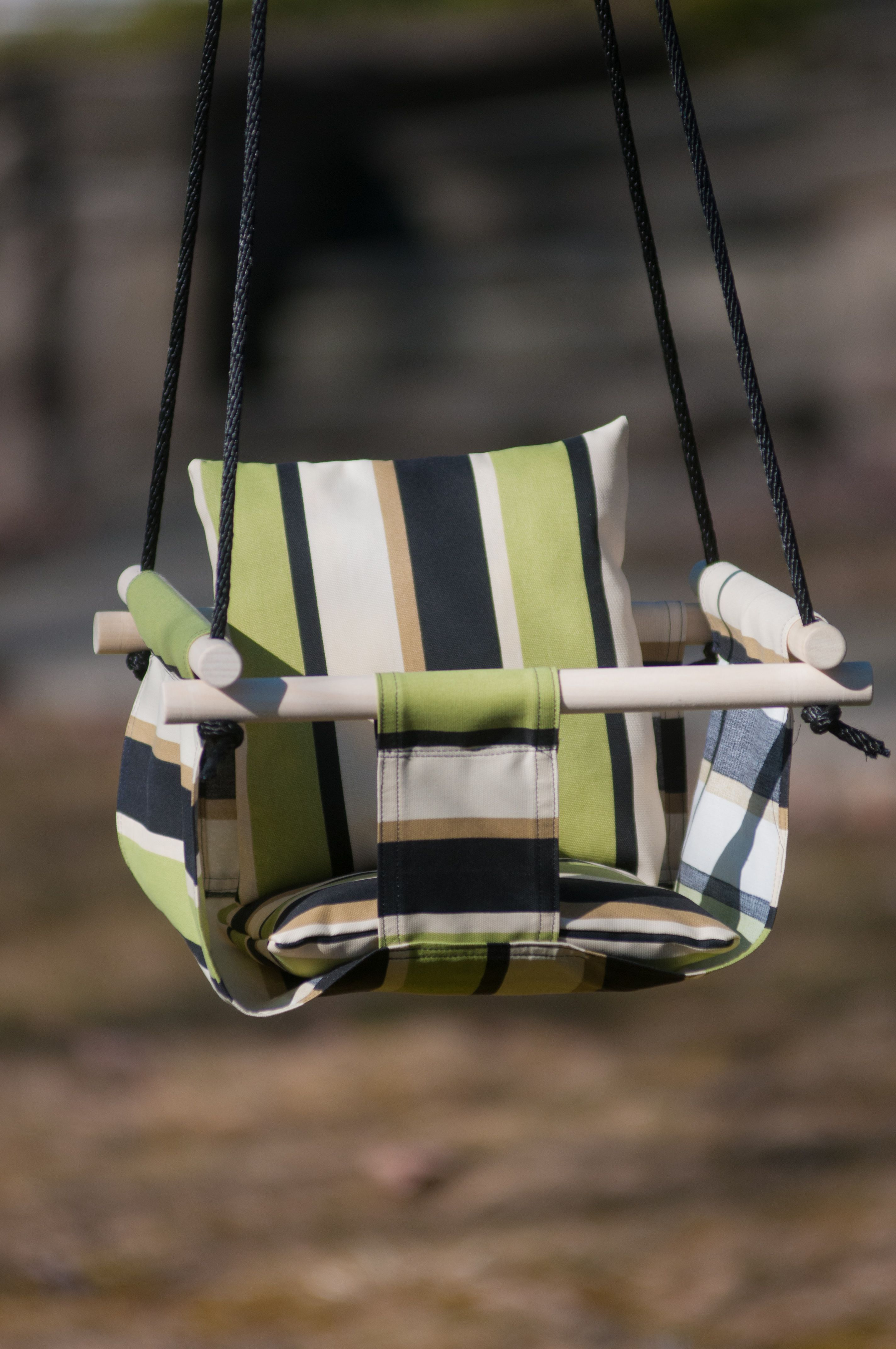 DIY Baby Swing from the April May 13 Issue of Smart Blonde