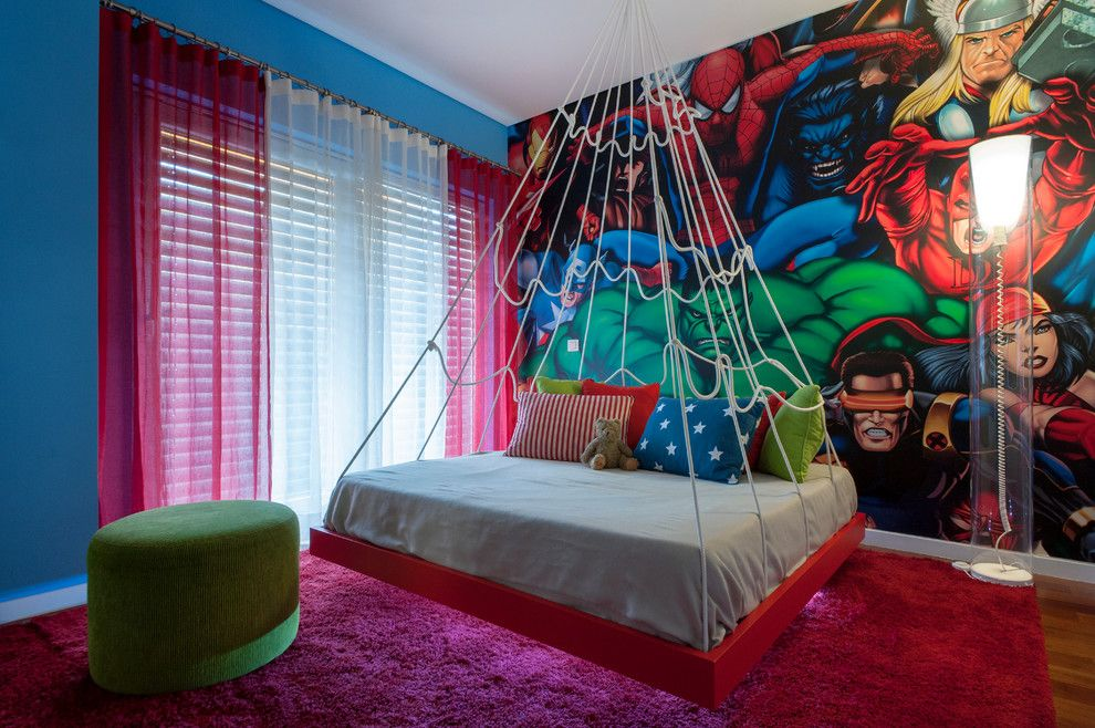 For all spider man fans out there. This is how your bedrooms ...