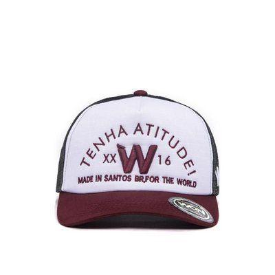 Boné Atitude WON - Aba Curva  016e01b72d28b
