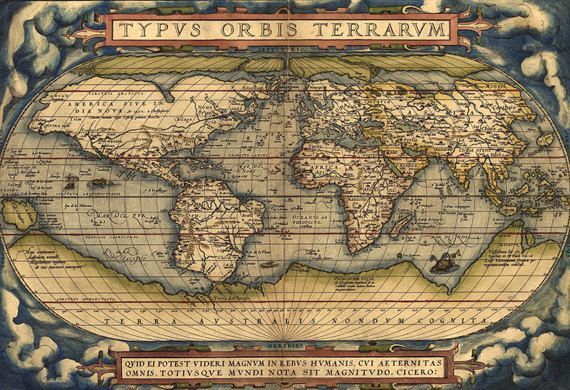 Old world map 16th century download scan of an old original old world map 16th century download scan of an old original gumiabroncs Images