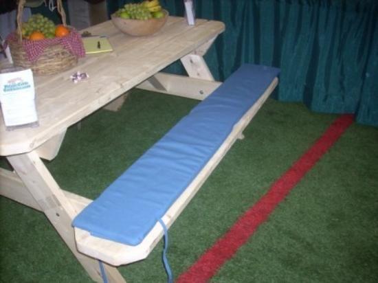 Merveilleux Picnic Table Cushions