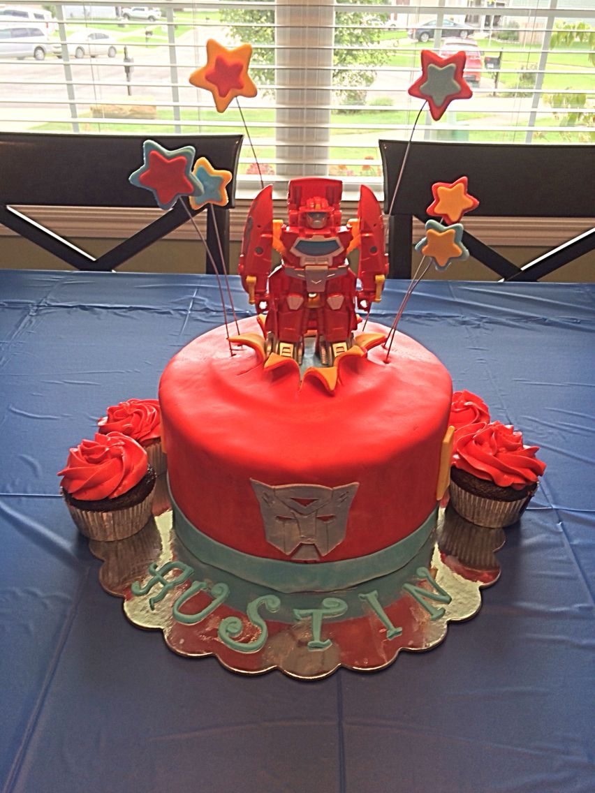 Remarkable Heatwave Transformers Cake With Images Transformers Birthday Funny Birthday Cards Online Alyptdamsfinfo