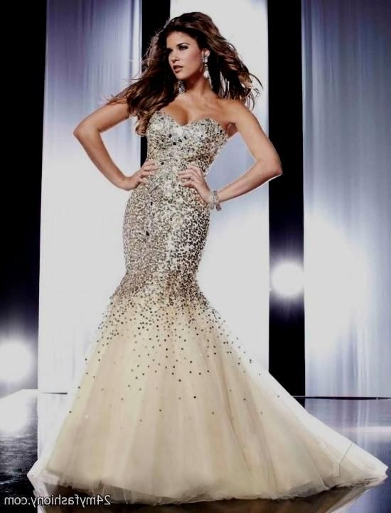 mermaid prom dresses champagne | IDeAS | Pinterest | Champagne ...