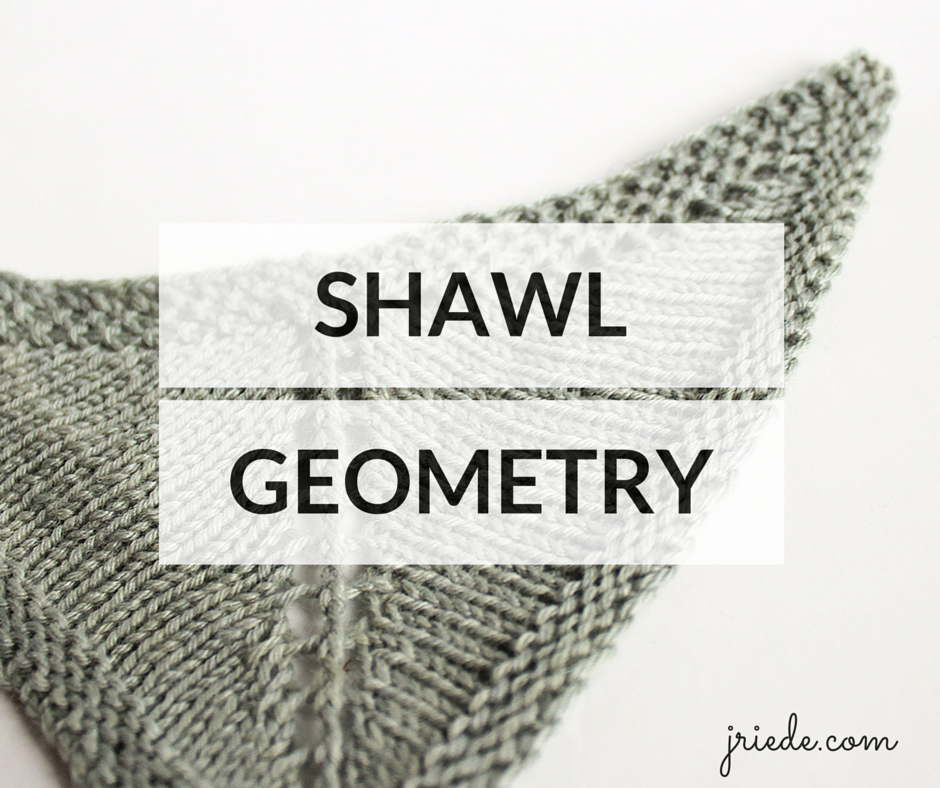 The most asked questions in my shawl design teaching courses are about shawl geometry and construction methods. Find out more about shawl geometry here.
