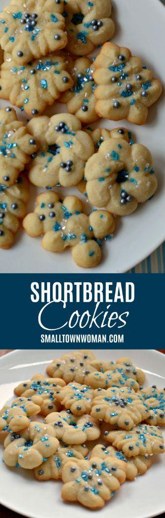 Shortbread Cookie Recipe (Easy Four Ingredient Dough)