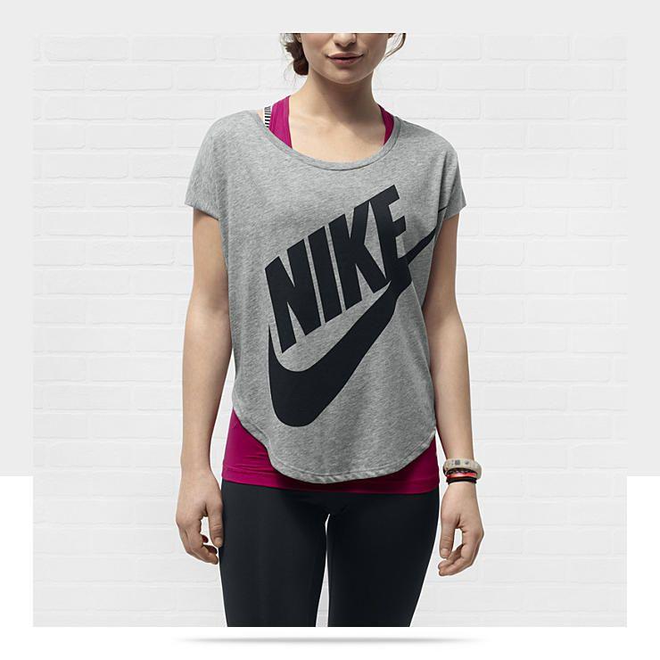 sport t shirt frauen nike