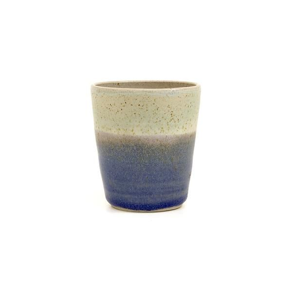 Libby Ballard Ceramic Cup: These beautiful cups are inspired by the sea and coastal landscapes. Each piece has been individually hand made by ceramicist Libby Ballard. They are the perfect size for that morning tea or latte and even make a great planter for your favourite succulent or cactus. Colour and size may vary slightly. Hand made.