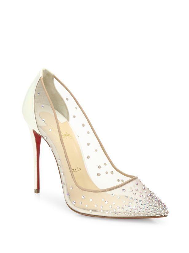 Trista Kit On Christian Louboutin High Heels Wedding Shoes Heels