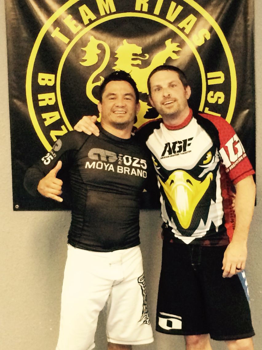 Thank you to Chris Carlino from American Grappling Federation for