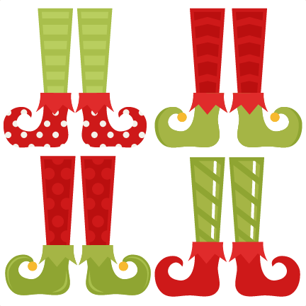 elf shoe set svg cutting files christmas svg cuts free svgs cute cut rh pinterest com Elf Ears Clip Art elf shoes clipart