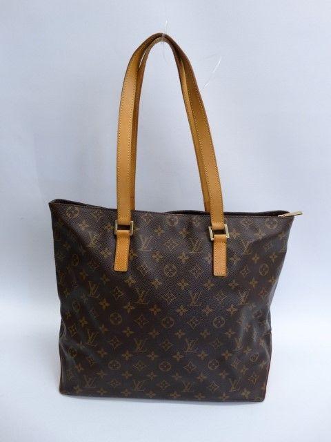 Just In Louis Vuitton Monogram Canvas Cabas Mezzo Tote Bag