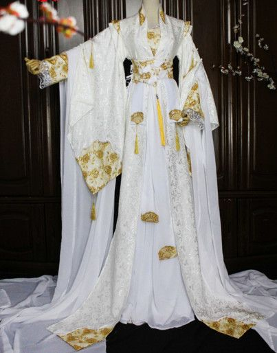 Doll Fashion Royalty Classic White Cheongsam Dress//Clothes//Gown For 11 in