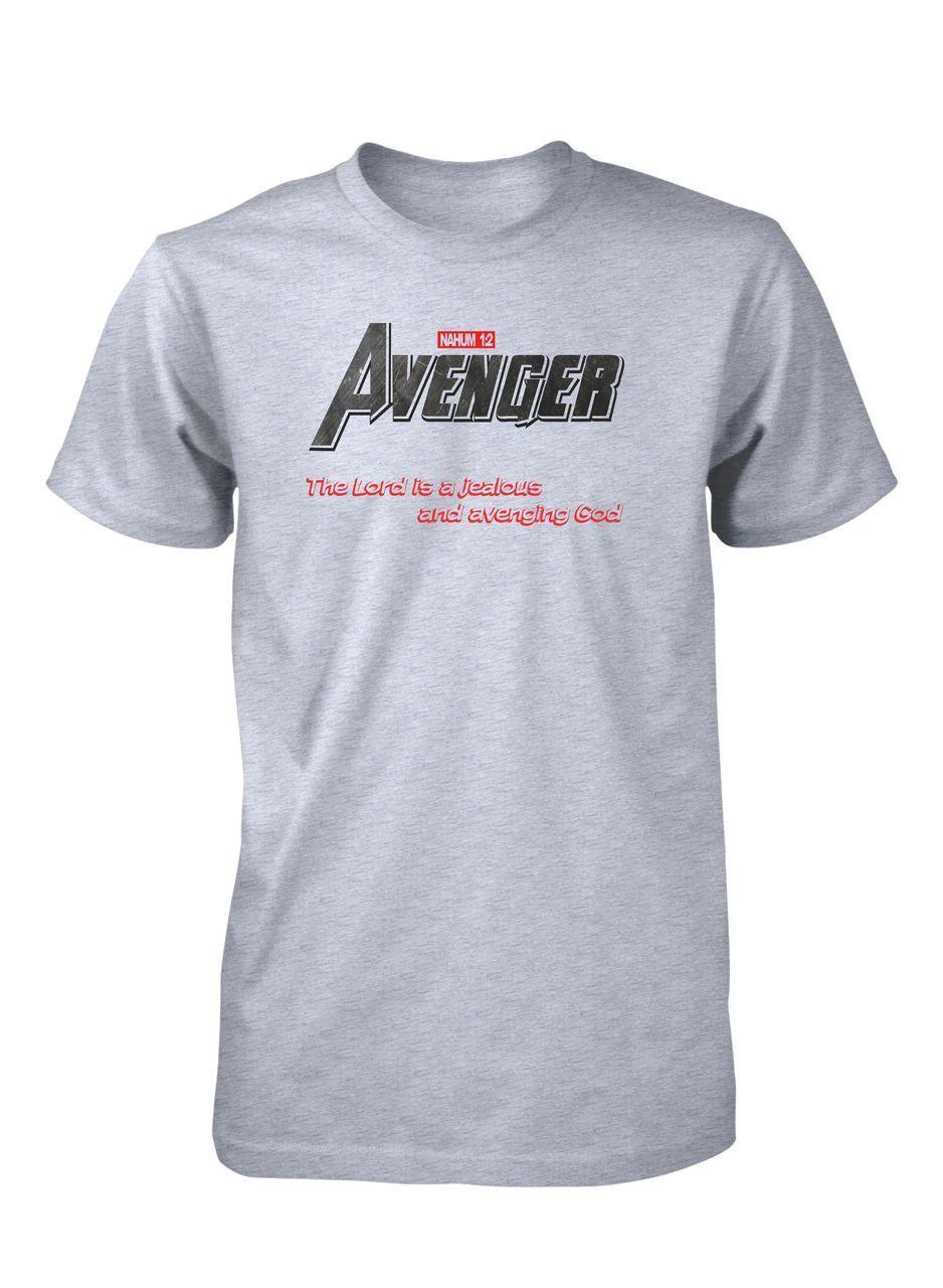 446981a7 God Avenger Hero Bible Comics Christian T-Shirt for Men in 2019 ...