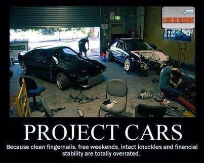 Project Cars Because Clean Fingernails Free Weekends Intact