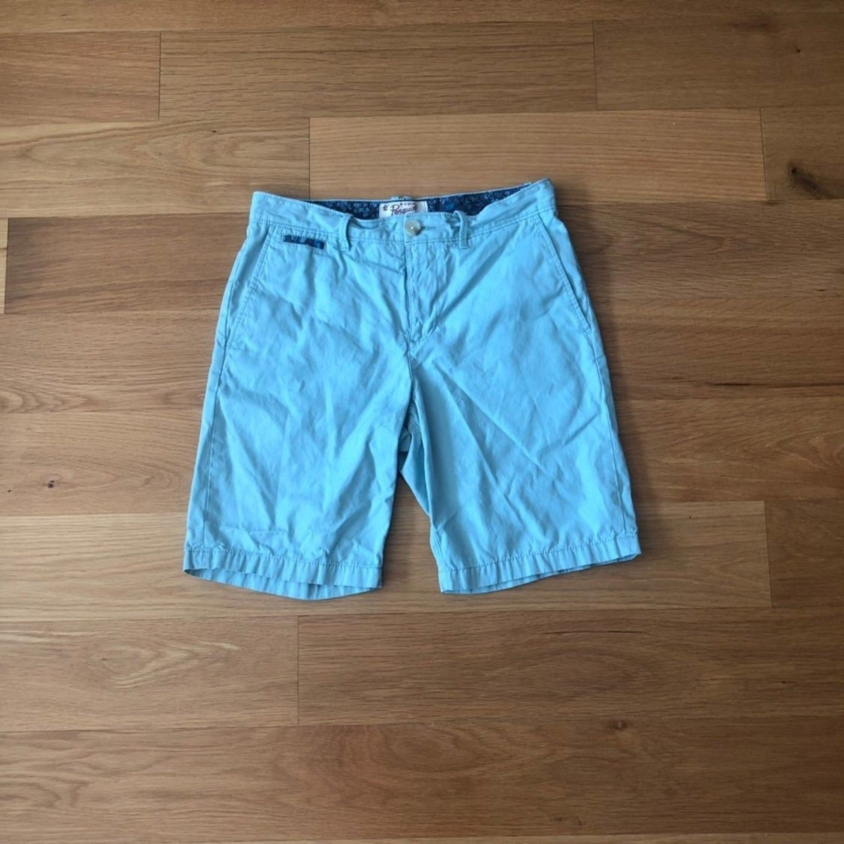 Men's Original Penguin Light Blue Shorts #lightblueshorts Men's Original Penguin Light Blue Shorts #lightblueshorts